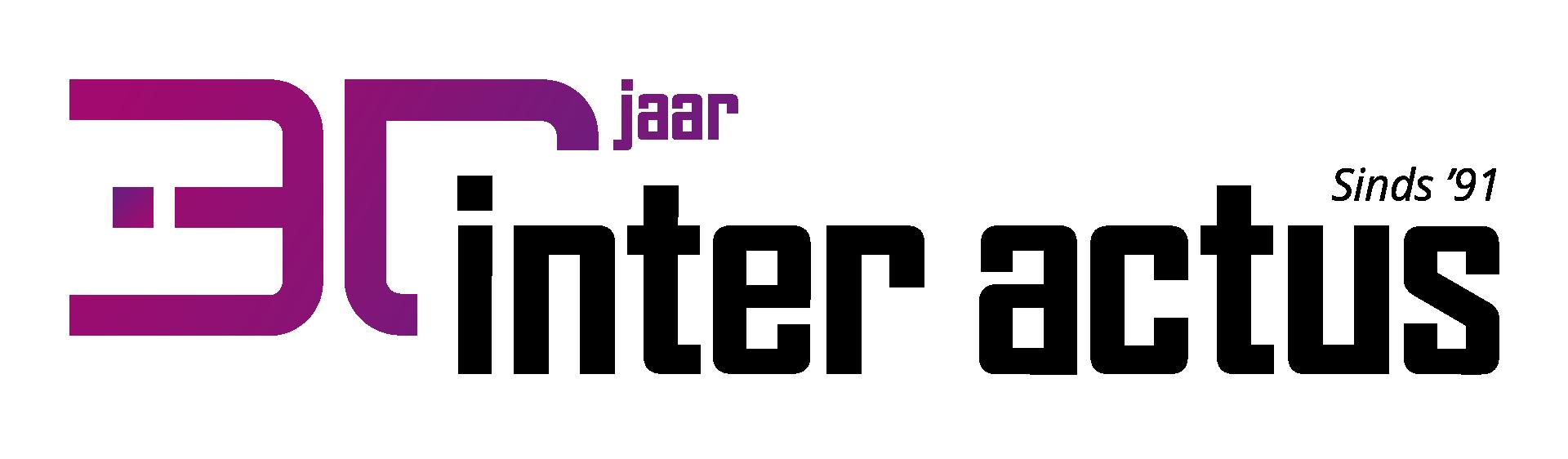 Logo 30 jaar | Inter Actus