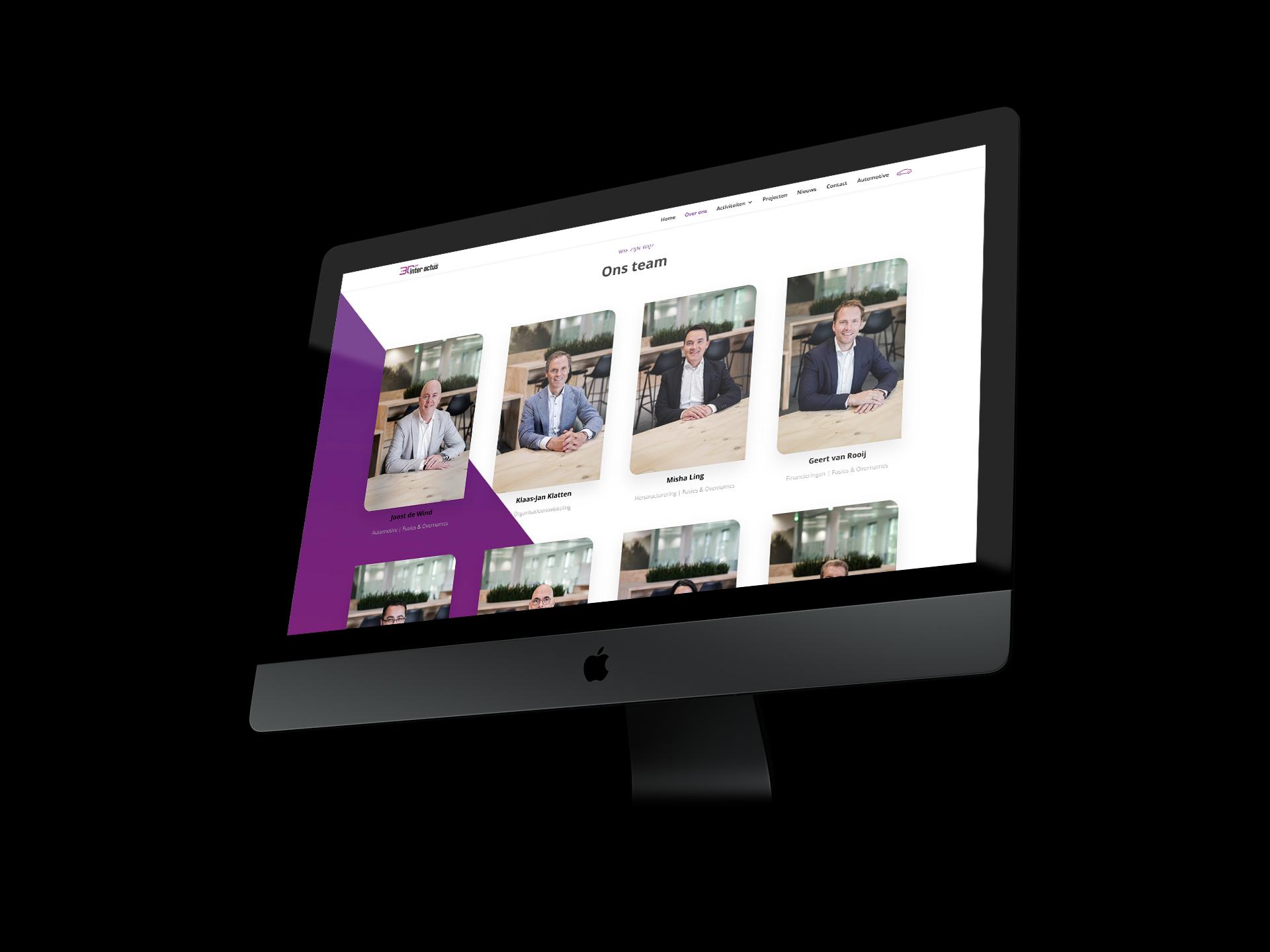 Website ontwikkeling | Inter Actus